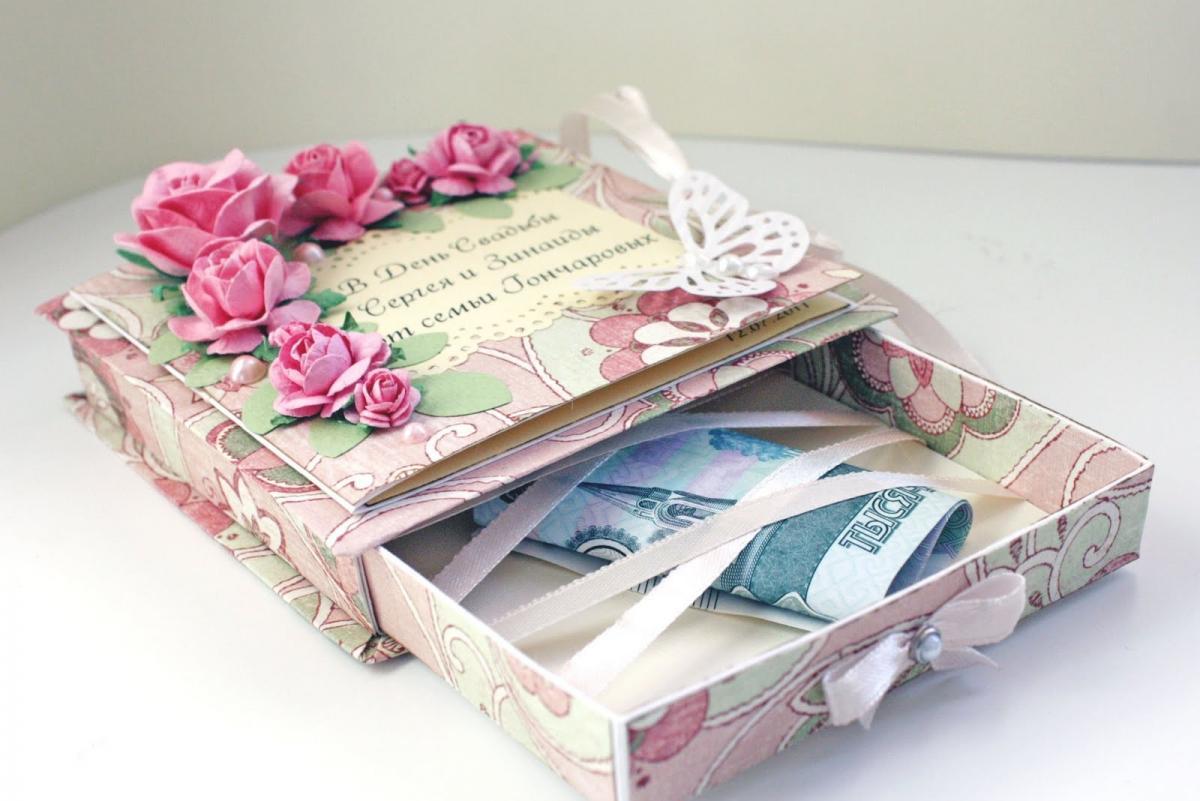 Подарки деньгами на свадьбу